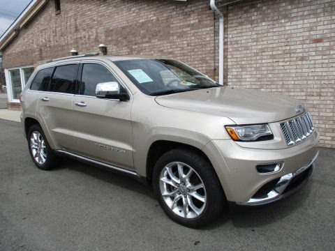 Cashmere Pearl 2014 Jeep Grand Cherokee Summit 4x4