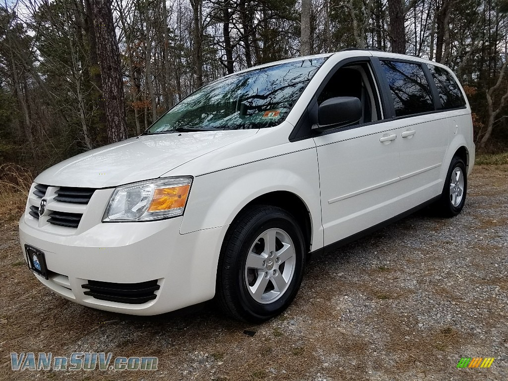 2010 Grand Caravan SE Hero - Stone White / Medium Slate Gray/Light Shale photo #1