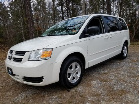 Stone White 2010 Dodge Grand Caravan SE Hero