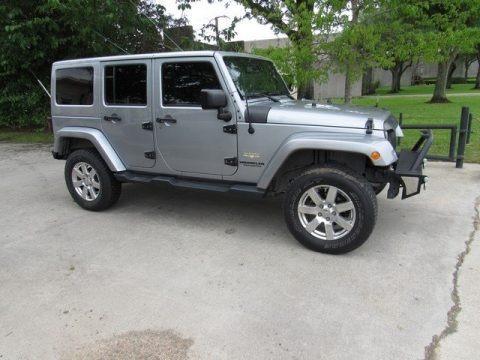 Billet Silver Metallic 2015 Jeep Wrangler Unlimited Sahara 4x4