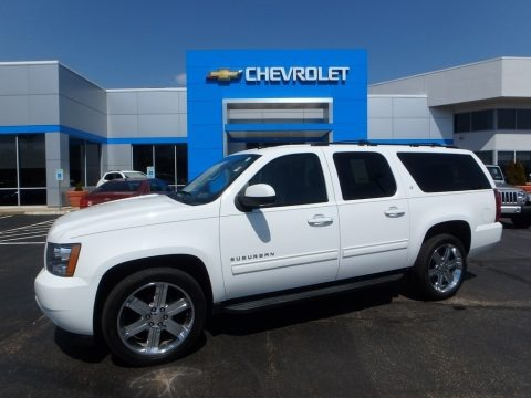 Summit White 2012 Chevrolet Suburban LT 4x4