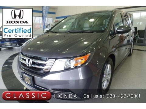 Modern Steel Metallic 2015 Honda Odyssey EX-L