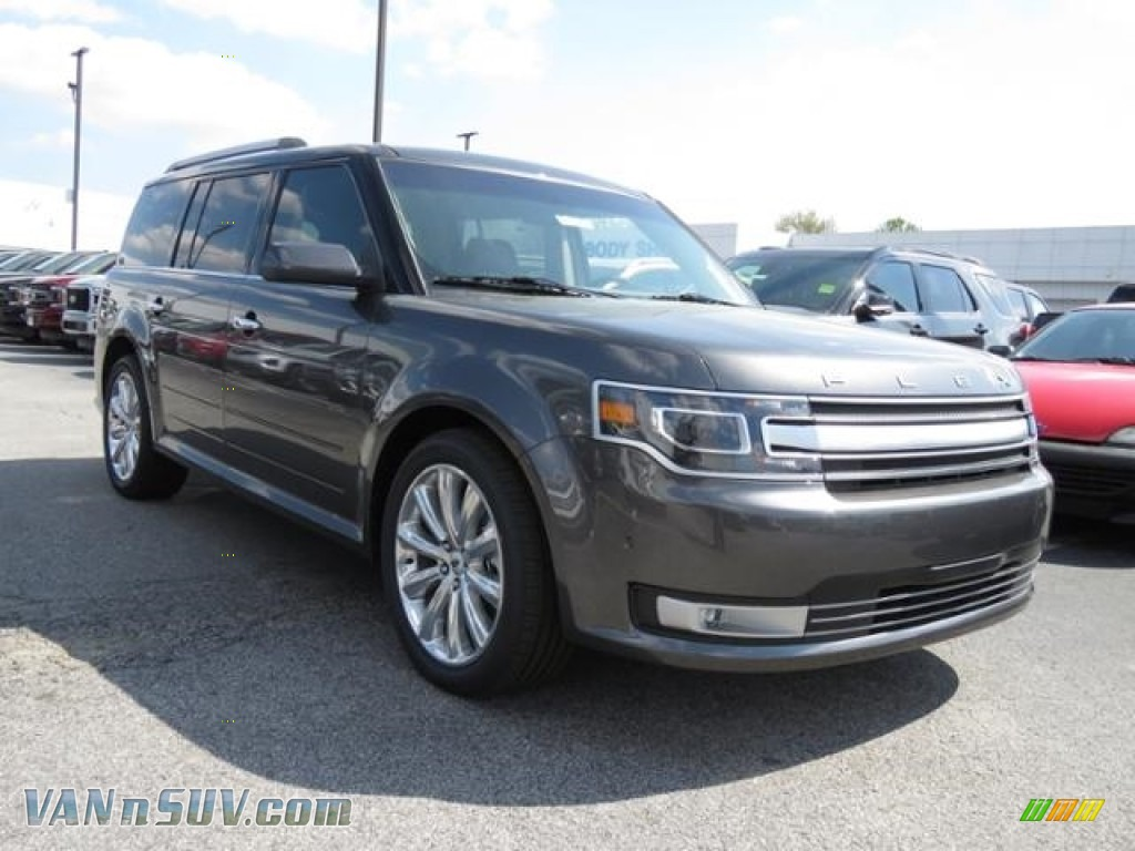 Magnetic / Charcoal Black Ford Flex Limited AWD