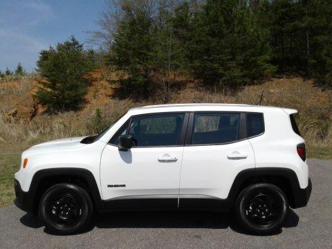 Alpine White 2018 Jeep Renegade Sport 4x4