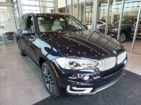 Imperial Blue Metallic 2018 BMW X5 xDrive35i