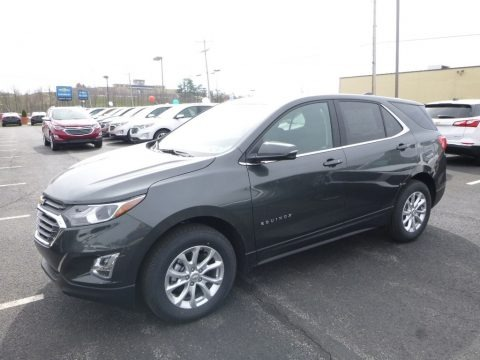 Nightfall Gray Metallic 2018 Chevrolet Equinox LT AWD