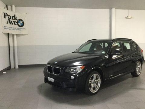 Black Sapphire Metallic 2015 BMW X1 xDrive35i