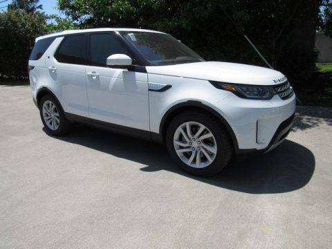 Fuji White 2018 Land Rover Discovery HSE
