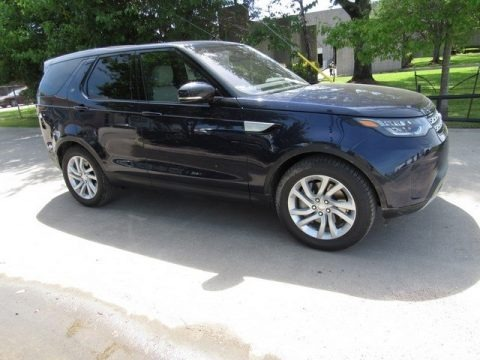 Loire Blue Metallic 2018 Land Rover Discovery HSE
