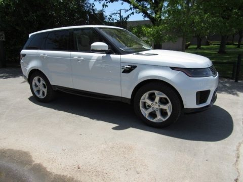 Fuji White 2018 Land Rover Range Rover Sport HSE