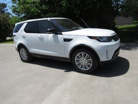 Fuji White 2018 Land Rover Discovery SE