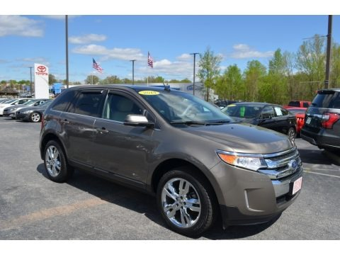 Mineral Gray 2014 Ford Edge Limited