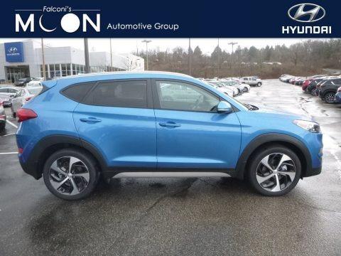 Caribbean Blue 2018 Hyundai Tucson Sport AWD