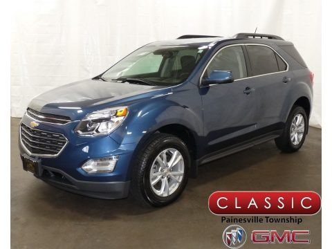 Patriot Blue Metallic 2016 Chevrolet Equinox LT AWD