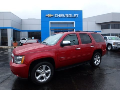 Crystal Red Tintcoat 2014 Chevrolet Tahoe LT 4x4