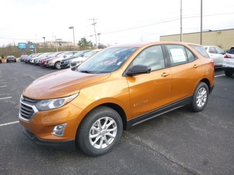 Orange Burst Metallic 2018 Chevrolet Equinox LS