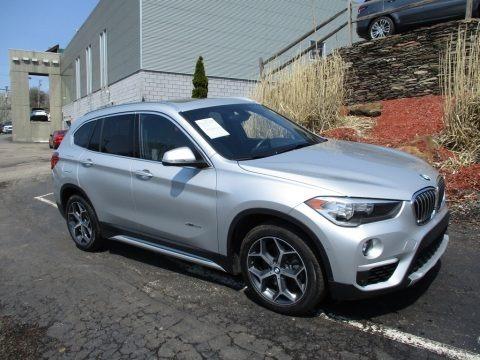Glacier Silver Metallic 2016 BMW X1 xDrive28i