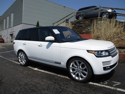 Fuji White 2016 Land Rover Range Rover Supercharged