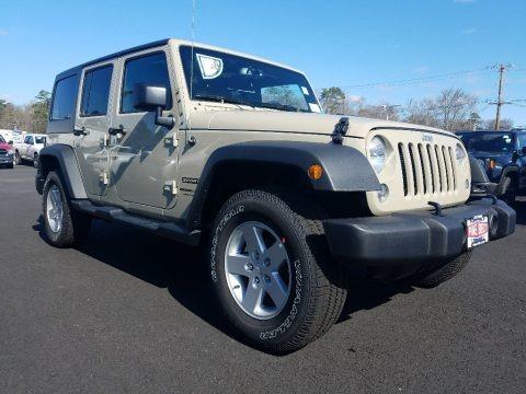 Gobi 2018 Jeep Wrangler Unlimited Sport 4x4