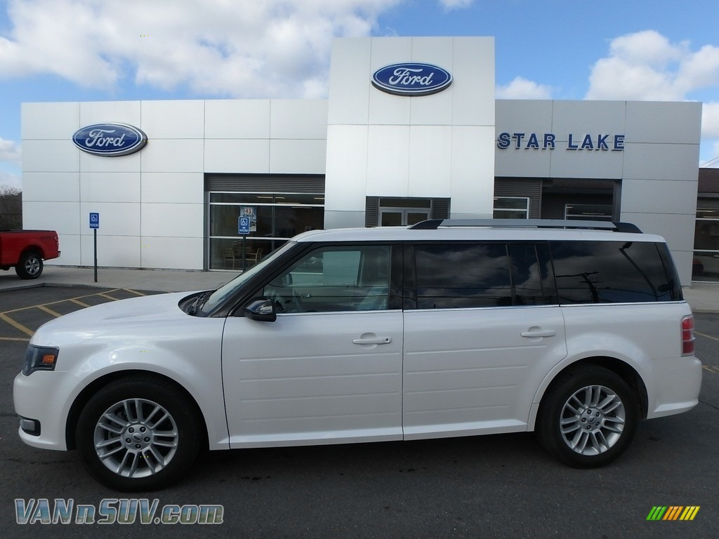 2014 Flex SEL AWD - White Platinum / Dune photo #1