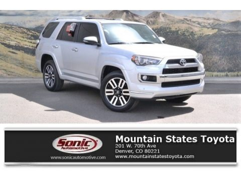 Classic Silver Metallic 2015 Toyota 4Runner Limited 4x4