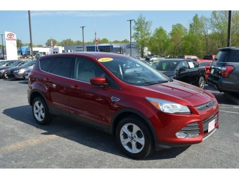 Ruby Red Metallic 2013 Ford Escape SE 1.6L EcoBoost 4WD