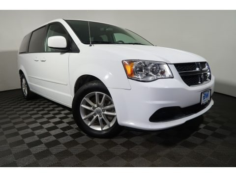 Bright White 2015 Dodge Grand Caravan SXT