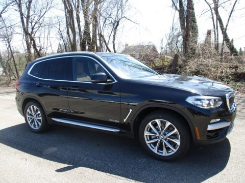 Black Sapphire Metallic 2018 BMW X3 xDrive30i