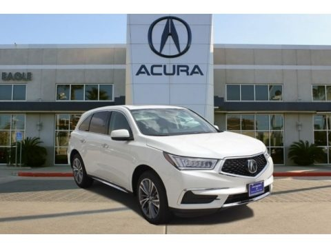 White Diamond Pearl 2017 Acura MDX Technology