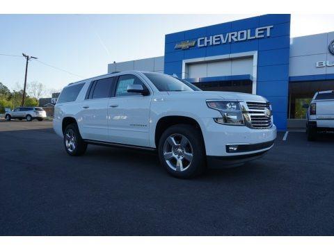 Summit White 2018 Chevrolet Suburban Premier