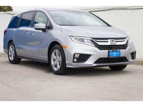 Lunar Silver Metallic 2018 Honda Odyssey EX-L