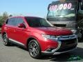 Mitsubishi Outlander SEL Rally Red Metallic photo #7