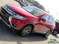 Mitsubishi Outlander SEL Rally Red Metallic photo #32