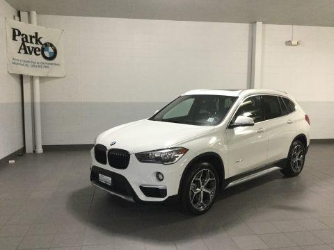 Alpine White 2018 BMW X1 xDrive28i