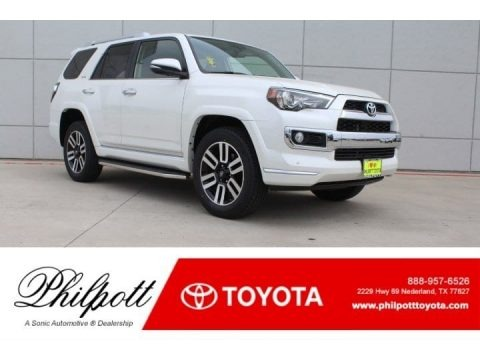 Blizzard White Pearl 2018 Toyota 4Runner Limited 4x4