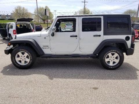 Bright White 2011 Jeep Wrangler Unlimited Sport 4x4