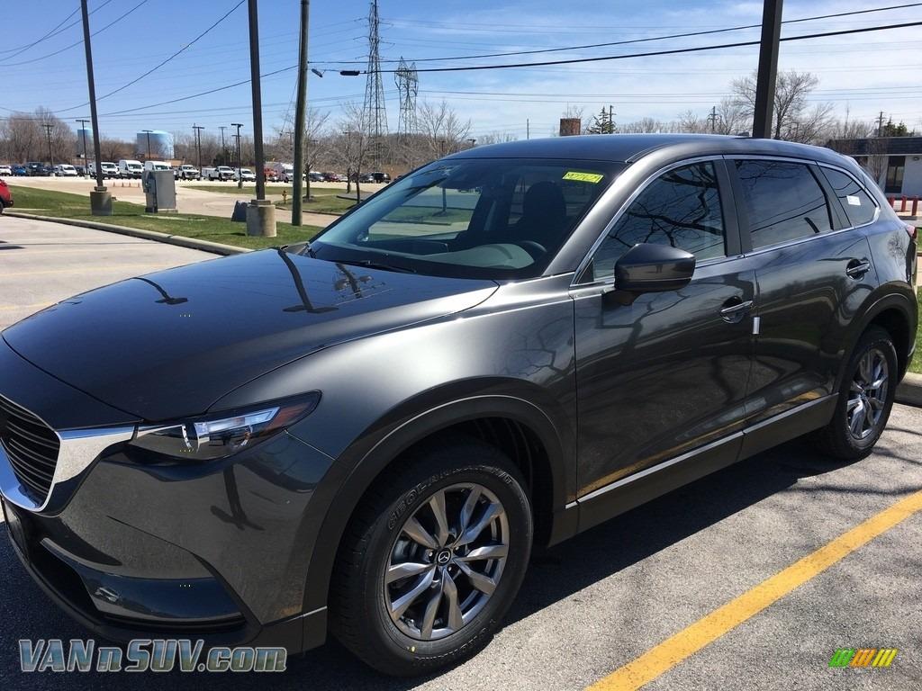 2018 CX-9 Sport AWD - Machine Gray Metallic / Black photo #1