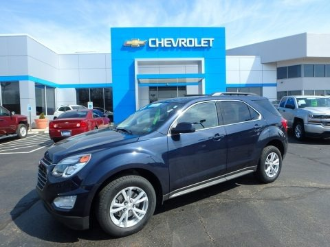 Blue Velvet Metallic 2016 Chevrolet Equinox LT AWD