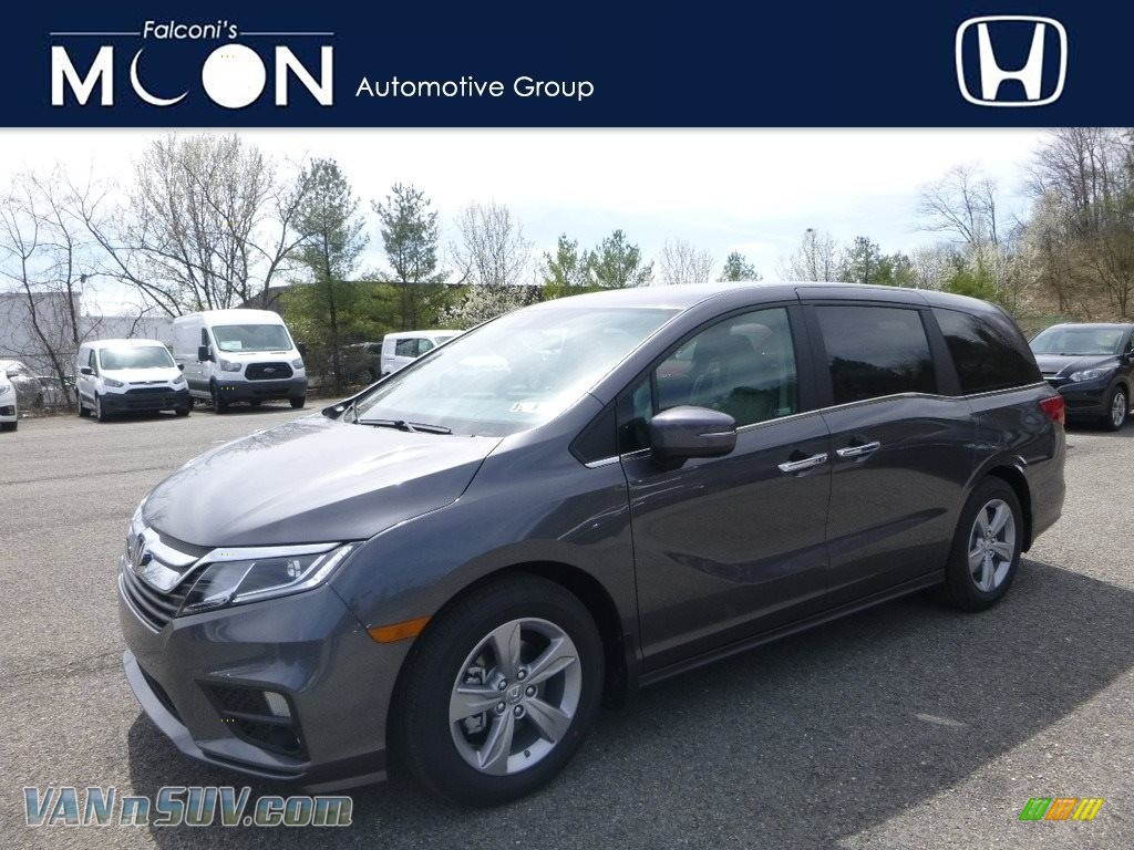 2018 Odyssey EX - Modern Steel Metallic / Gray photo #1