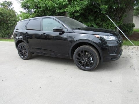Narvik Black Metallic 2018 Land Rover Discovery Sport HSE