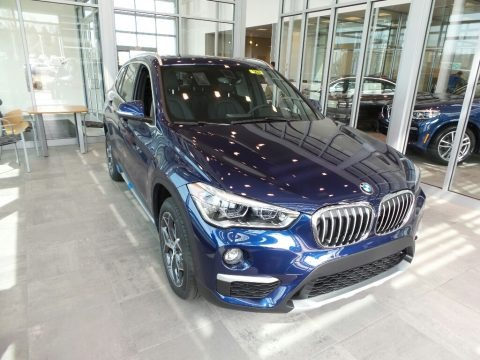 Mediterranean Blue Metallic 2018 BMW X1 xDrive28i