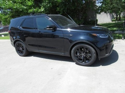 Farallon Pearl Black 2018 Land Rover Discovery HSE Luxury