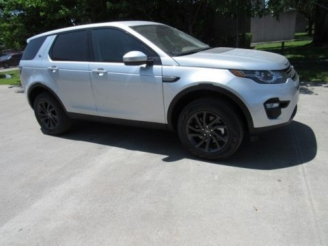 Indus Silver Metallic 2018 Land Rover Discovery Sport SE