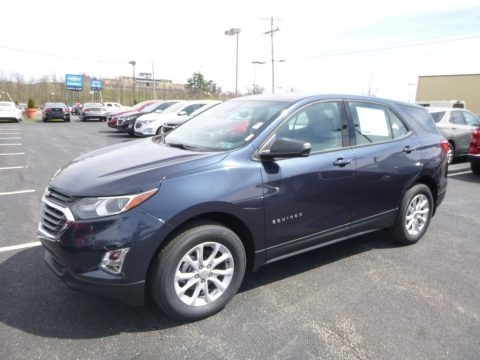 Storm Blue Metallic 2018 Chevrolet Equinox LS AWD