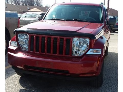 Inferno Red Crystal Pearl 2010 Jeep Liberty Sport 4x4