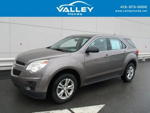 Mocha Steel Metallic 2010 Chevrolet Equinox LS AWD
