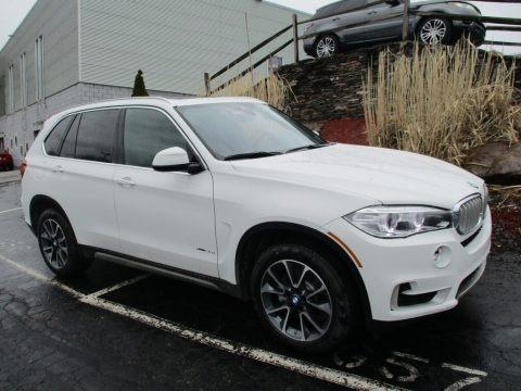 Alpine White 2018 BMW X5 xDrive35i