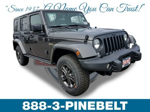 Granite Crystal Metallic 2018 Jeep Wrangler Unlimited Freedom Edition 4X4