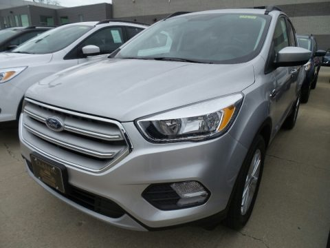 Ingot Silver 2018 Ford Escape SE