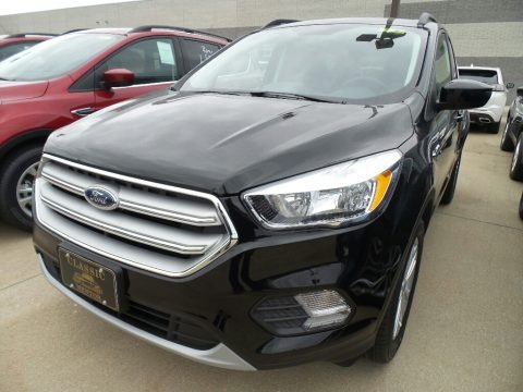 Shadow Black 2018 Ford Escape SE